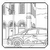 Audi A2 u gradu