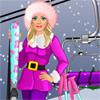 Barbika na skijanju