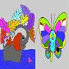 Leptir i slon