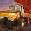 Vožnja traktora u Noći ...