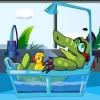 Gladni aligator i patkica