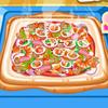 Vruća i ukusna pizza