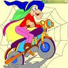 Veštica na motoru