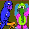 Papagaj i slon
