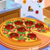 Dekoracija ukusne pizze