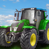 Voznja traktora na farmi
