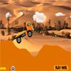 Vožnja kamiona u pustinj...