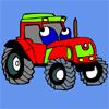 Traktor bojanka za decu